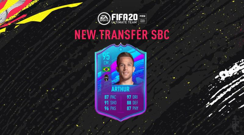 FIFA 20: Arthur transfer SBC