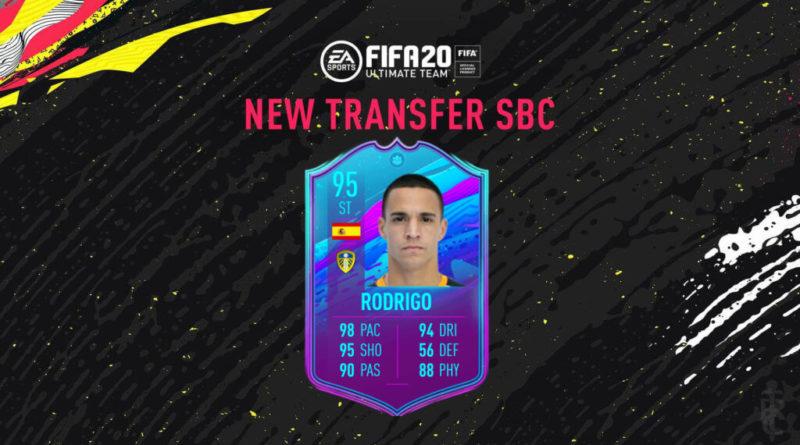FIFA 20: Rodrigo transfer to Leeds SBC
