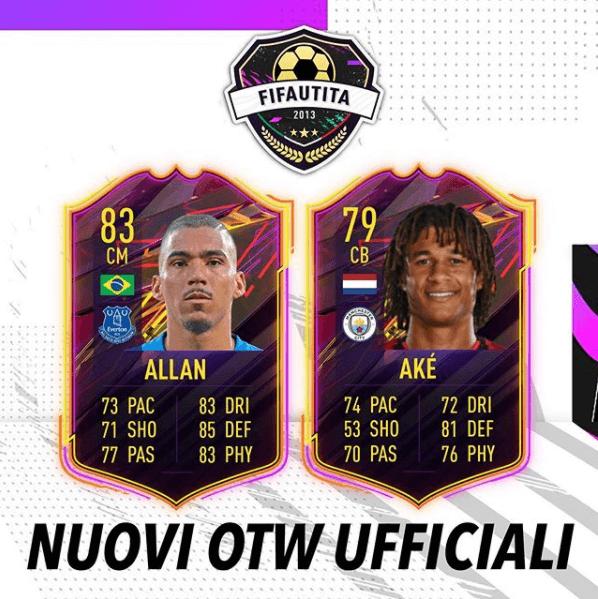 FIFA 21: Allan e Aké OTW ufficiali
