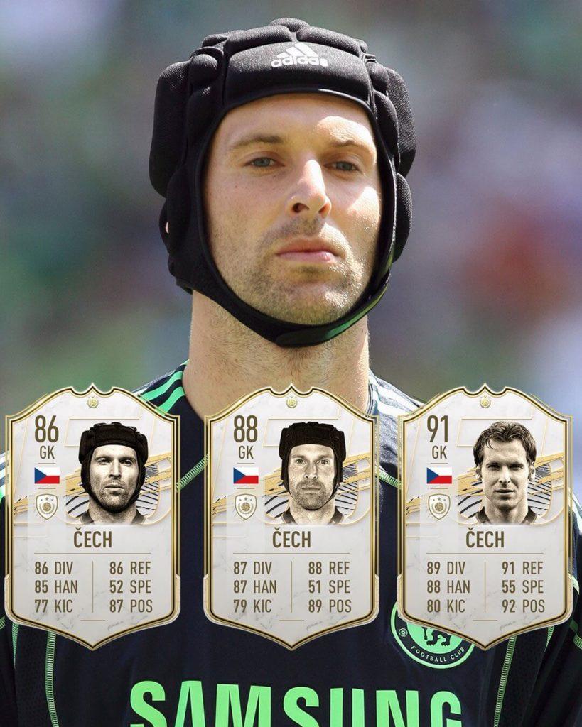 FIFA 21: Petr Cech Icon stats