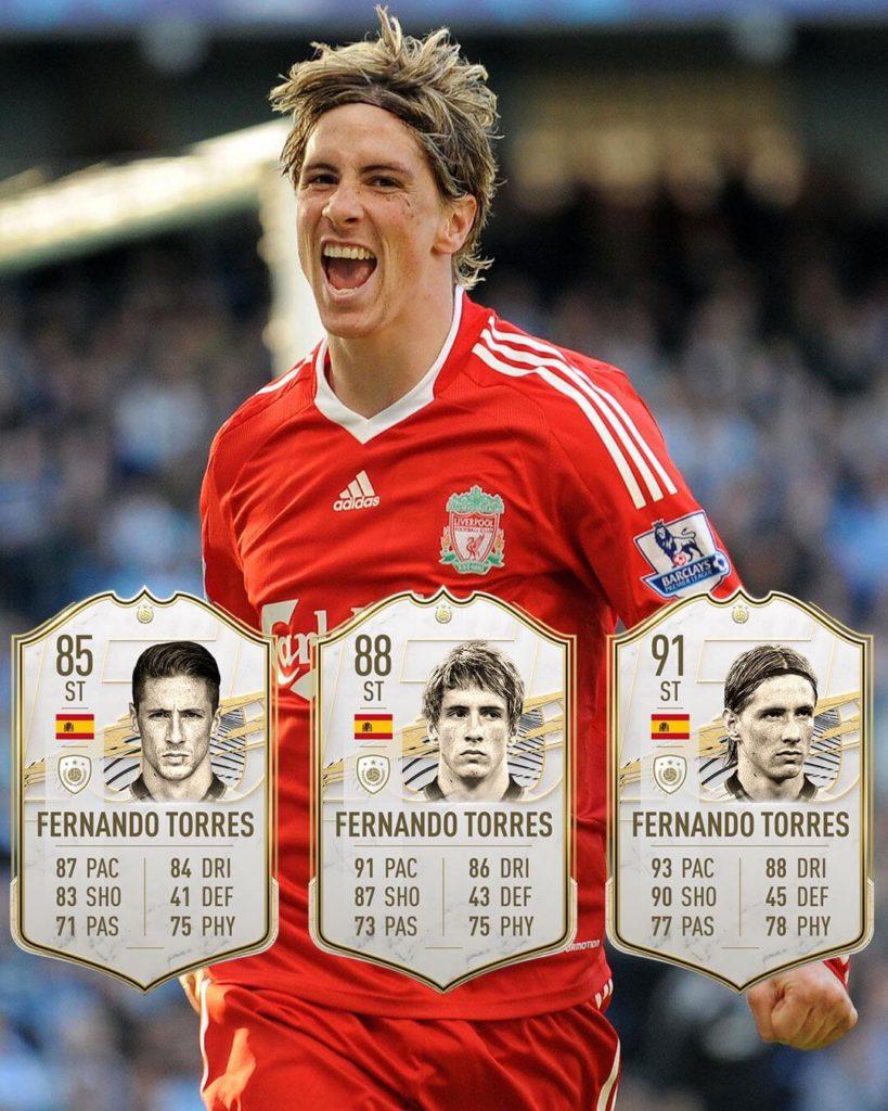 FIFA 21: Fernando Torres Icon stats