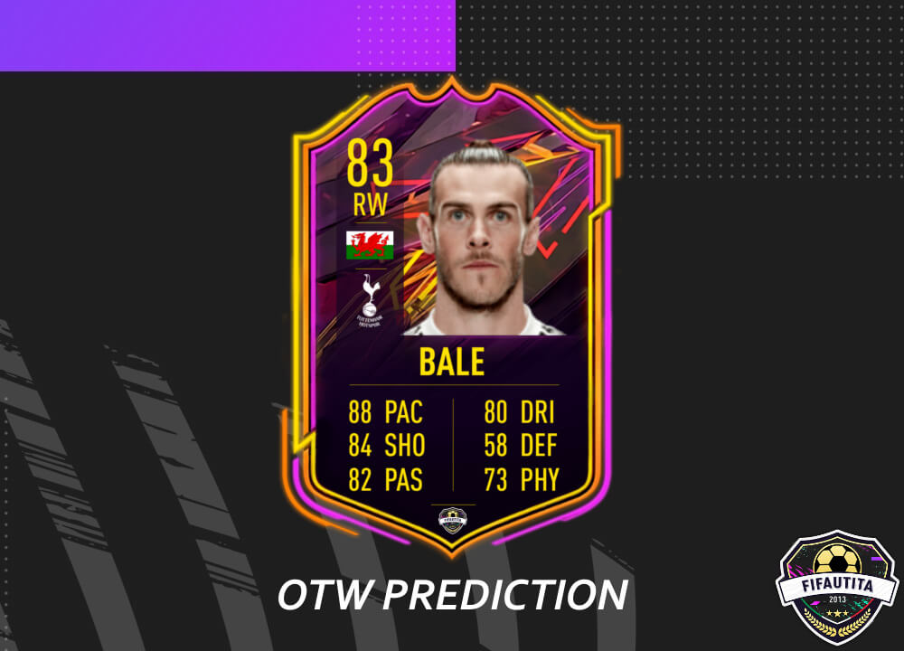FIFA 21: Gareth Bale OTW prediction