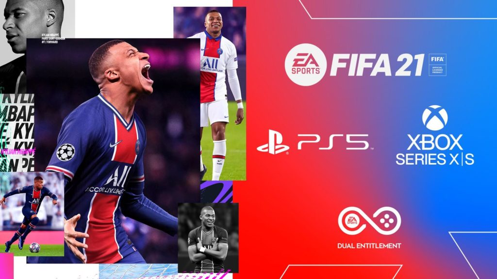 FIFA 21 Dual Entitlement: PS5 e XBOX Serie X