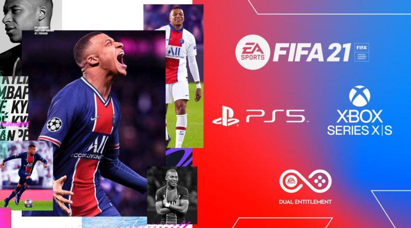 FIFA 21 Dual Entitlement: PS5 e XBOX Serie X