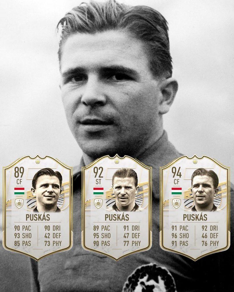FIFA 21: Puskas Icon stats