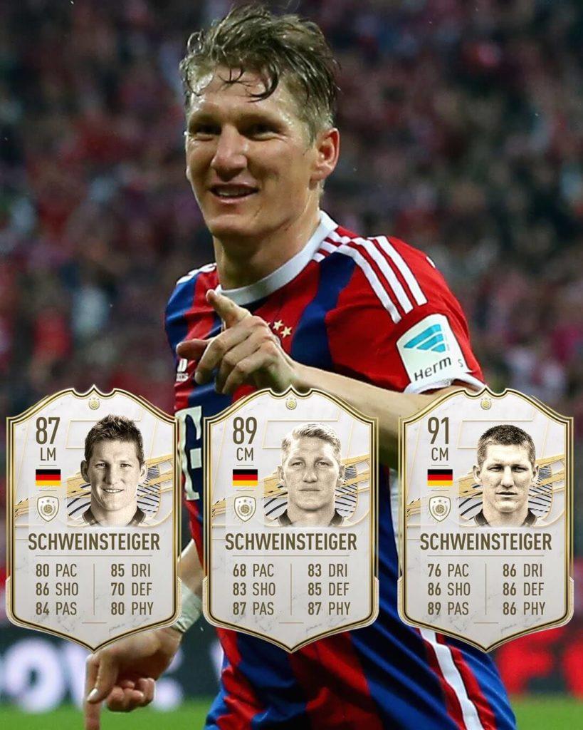 FIFA 21: Bastian Schweinsteiger Icon stats