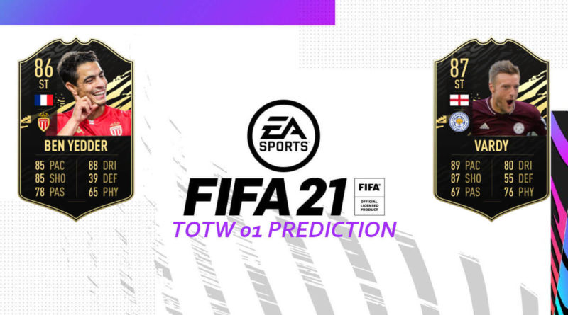 FIFA 21: Team of the Week 01 prediction