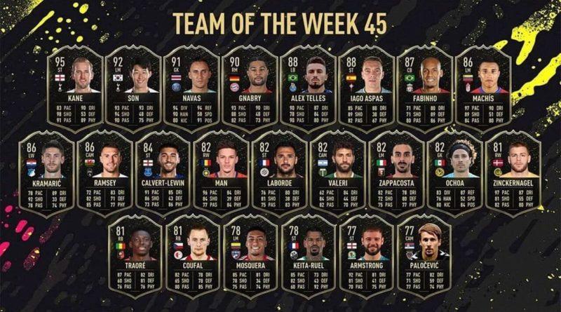 FIFA 21: TOTW 45