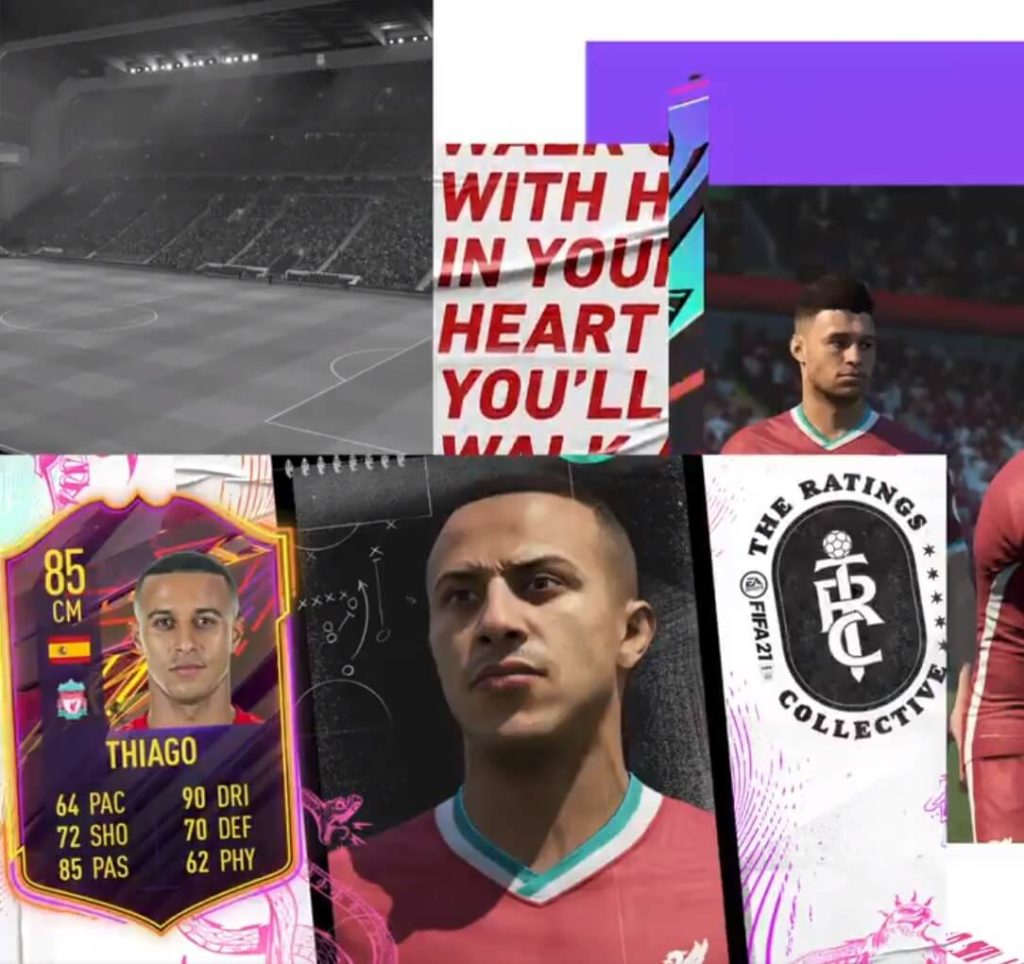 FIFA 21: Thiago Alcantara official OTW