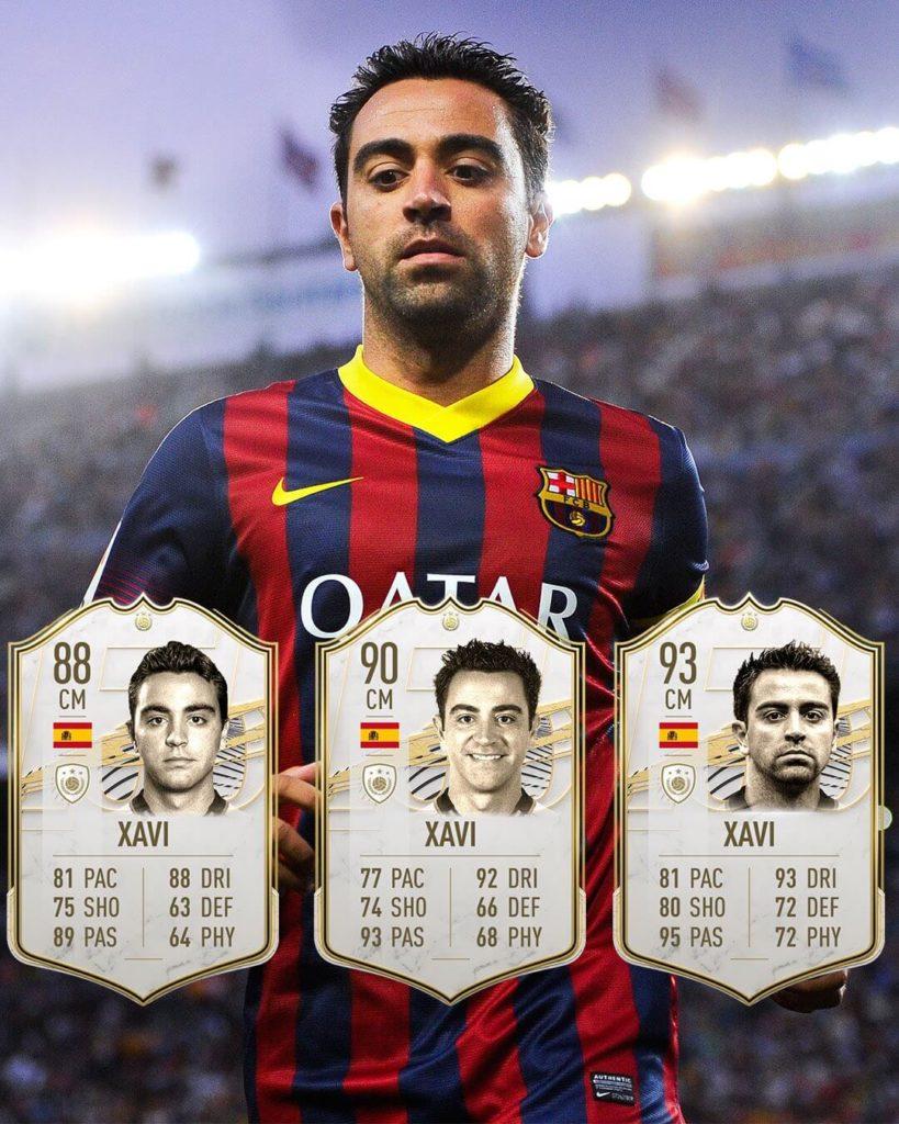 FIFA 21: Xavi Icon stats