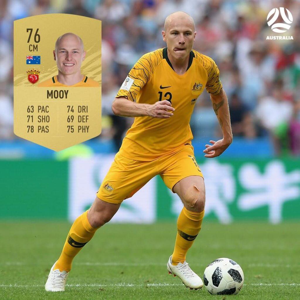 FIFA 21: australian Mooy ratings