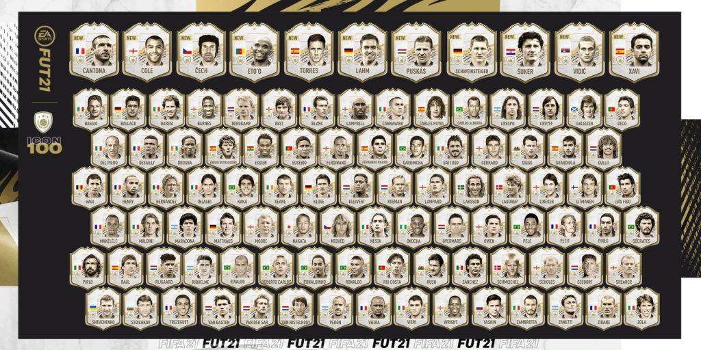 FIFA FUT 21: 100 Icon