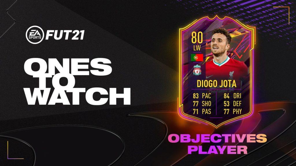 FIFA 21: Diogo Jota OTW obiettivo