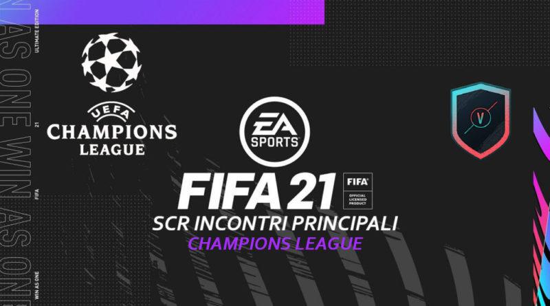FIFA 21: sfida creazione rosa incontri principali UEFA Champions League