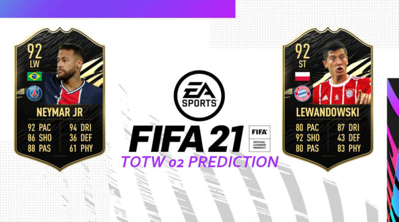 FIFA 21: Team of the Week 02 prediction