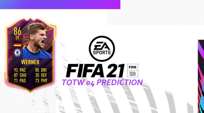 FIFA 21: Team of the Week 04 prediction