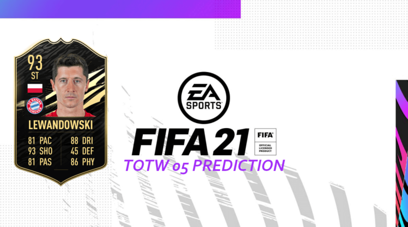 FIFA 21: Team of the Week 05 prediction