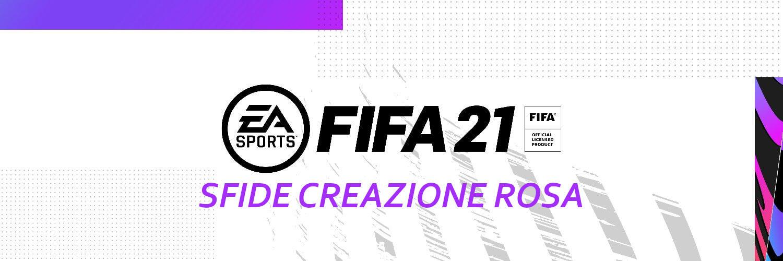 FIFA 21: sfide creazione rosa