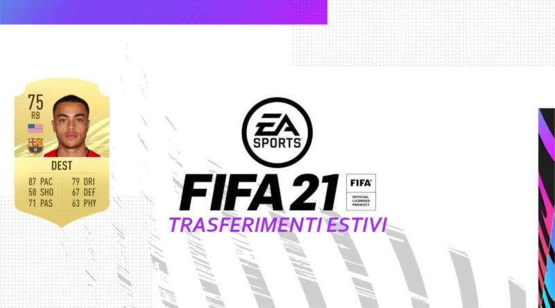 FIFA 21: trasferimenti estivi di ottobre in FUT