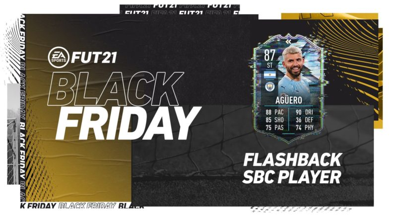 FIFA 21 Black Friday: Aguero flashback SBC