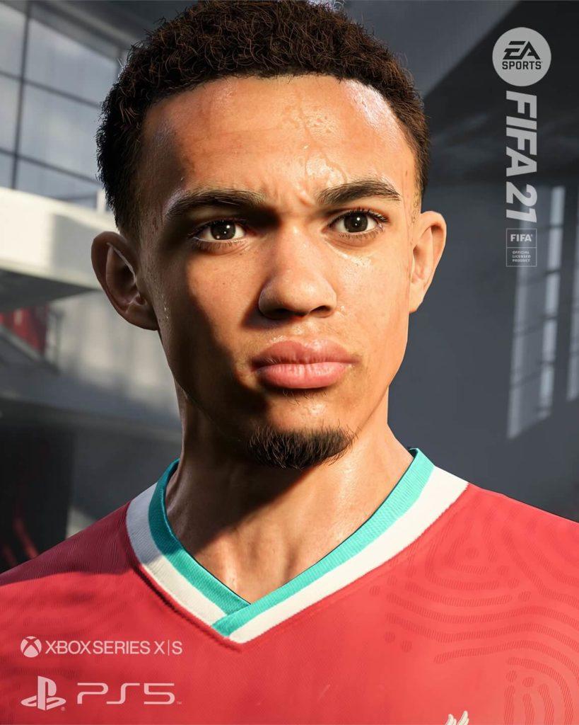 FIFA 21: Alexander-Arnold PS5 e XBOX Serie X screenshot