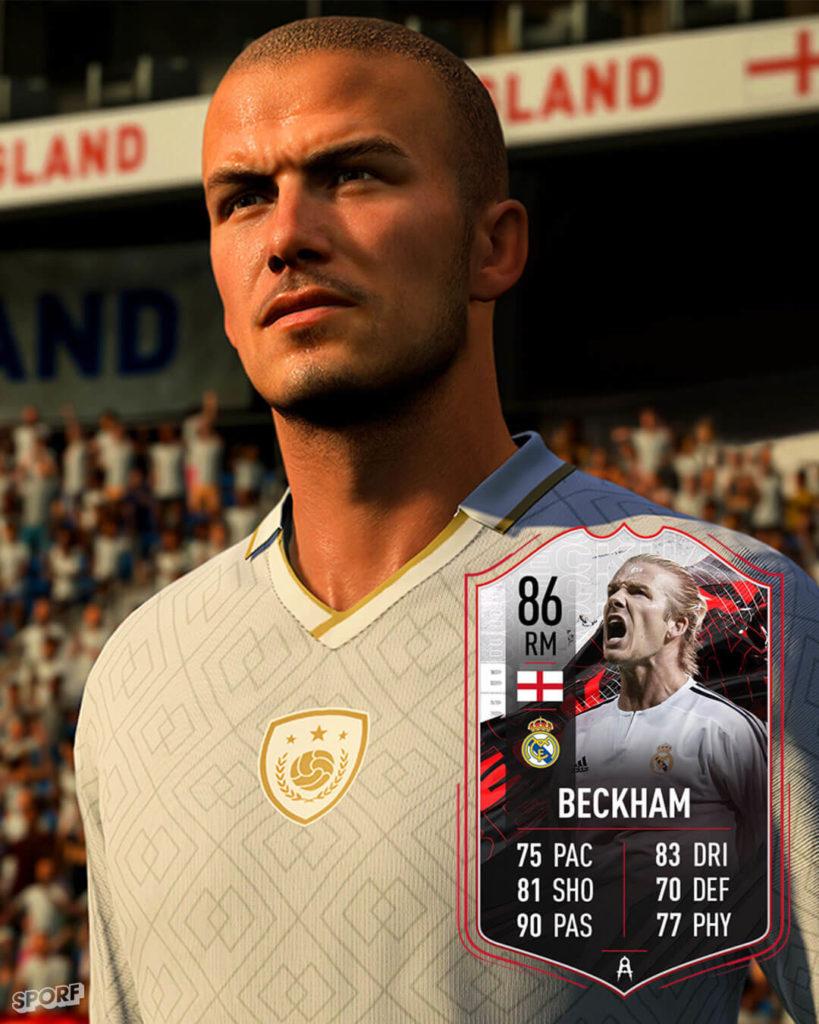 FIFA FUT 21: David Beckham 86 Real Madrid non scambiabile