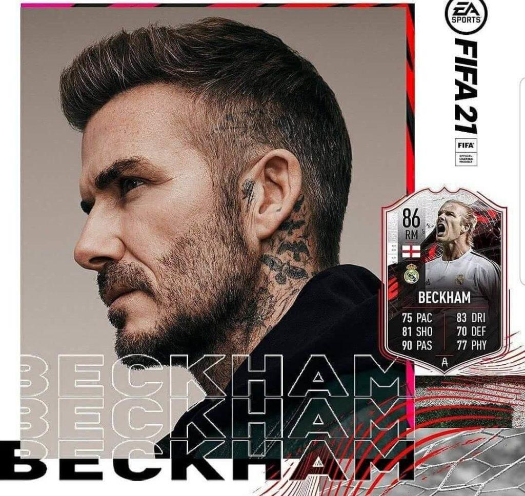 FIFA FUT 21: David Beckham 86 Real Madrid