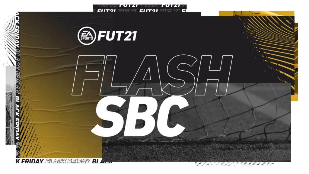 FIFA 21 Black Friday: flash SBC