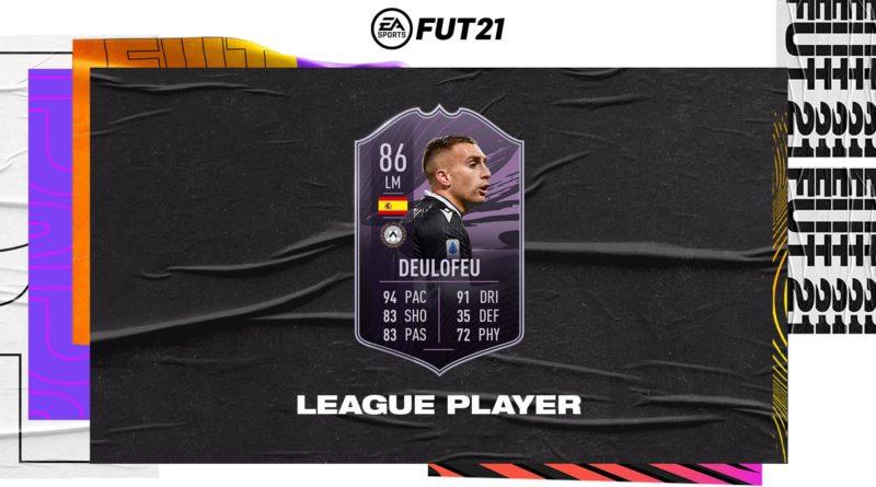 FIFA 21: Deulofeu league player obiettivo