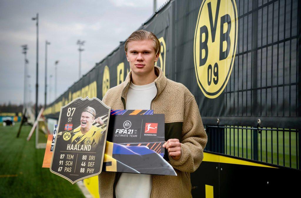 FIFA 21: Erling Haaland TOTW 9