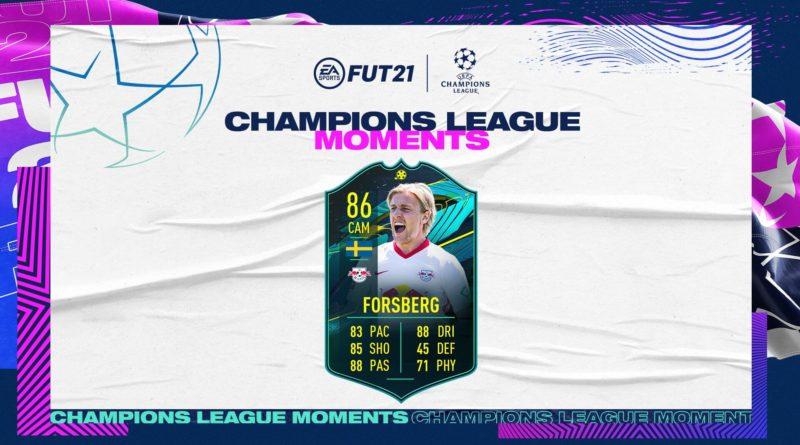 FIFA 21: Forsberg UCL Moments SBC