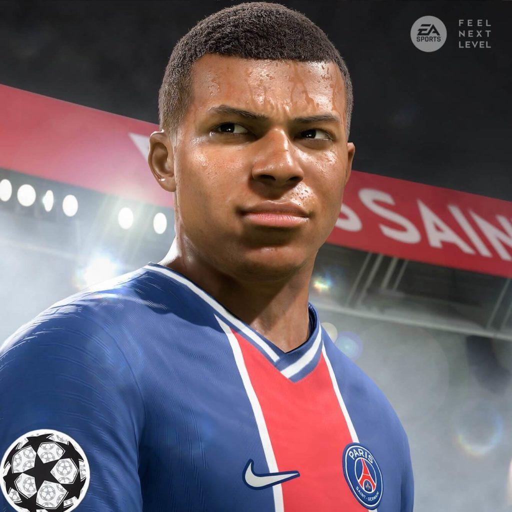 FIFA 21 next-gen: Mbappé screenshot