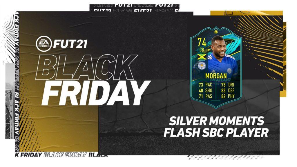 FIFA 21 Black Friday: Morgan player moments SBC