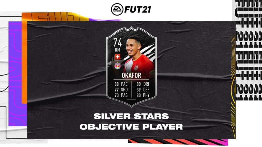 FIFA 21: Okafor silver stars objective player