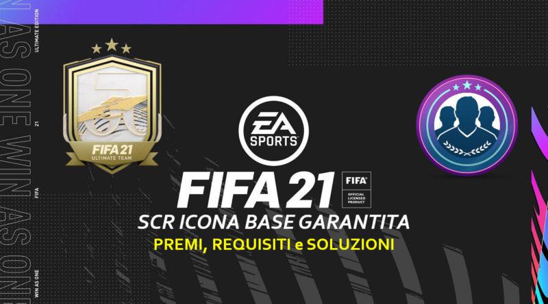 FIFA 21: sfida creazione rosa aggiornamento icona base