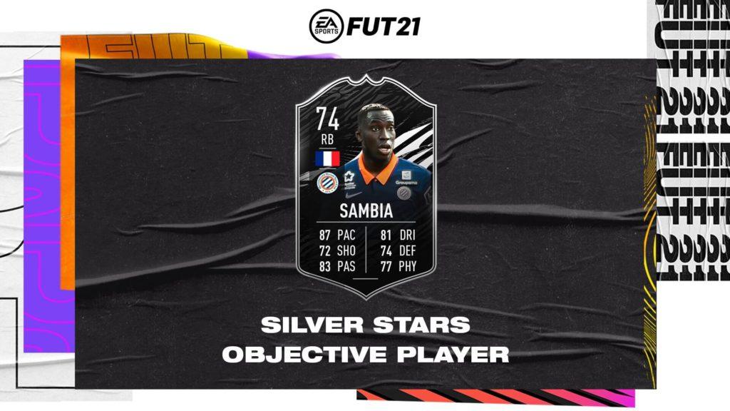 FIFA 21: Sambia silver star player objective