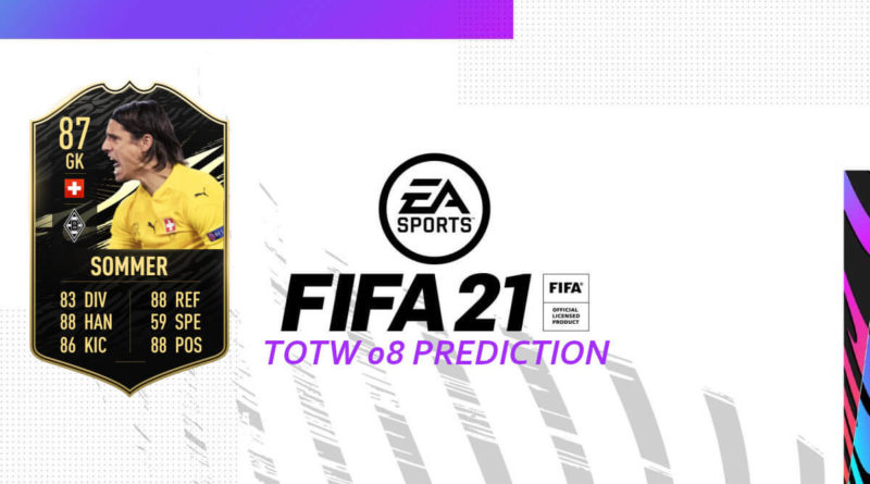 FIFA 21: Team of the Week 08 prediction