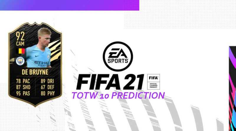 FIFA 21: Team of the Week 10 prediction