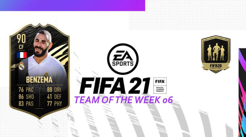 FIFA 21 TOTW: Team of the Week 06