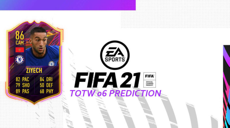 FIFA 21: Team of the Week 06 prediction