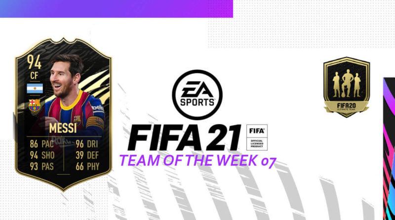 FIFA 21 TOTW: Team of the Week 07