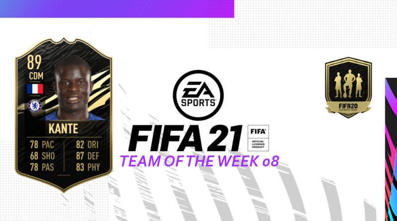 FIFA 21 TOTW: Team of the Week 08