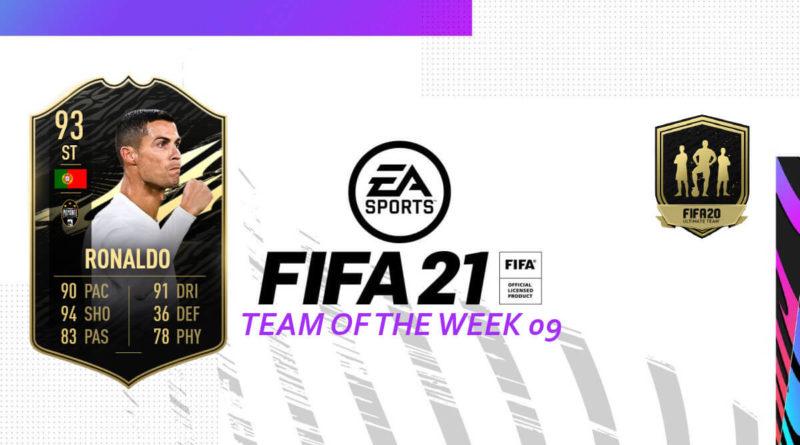 FIFA 21 TOTW: Team of the Week 09