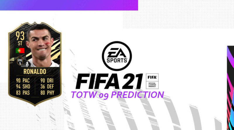 FIFA 21: Team of the Week 09 prediction