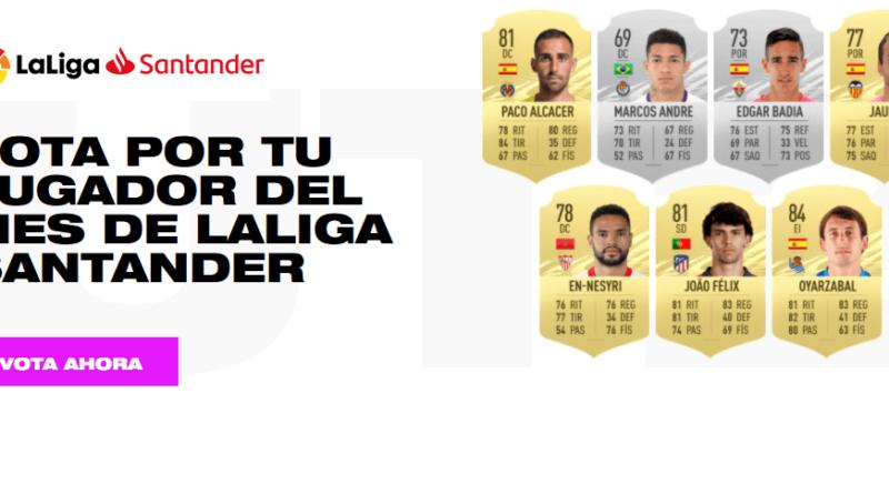 FIFA 21: candidati POTM di novembre in Liga spagnola