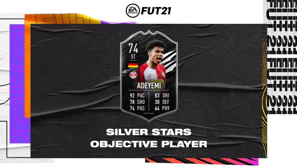 FIFA 21: TOTW 10 Adeyemi silver stars
