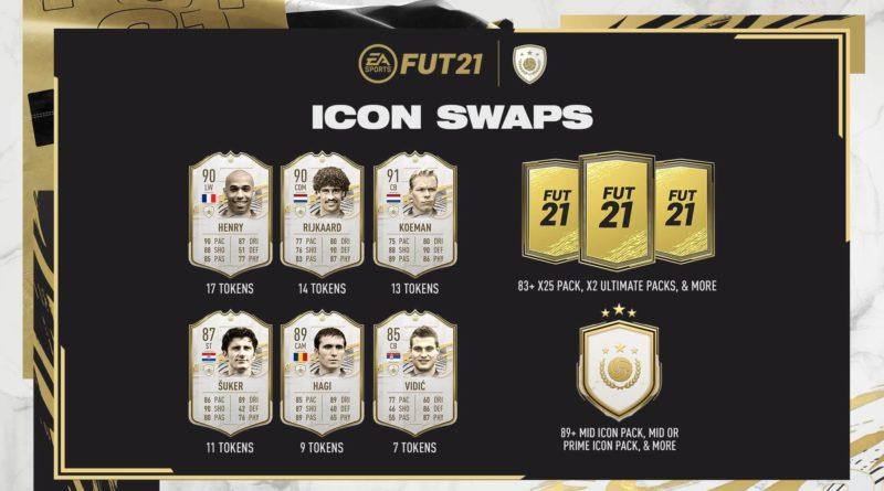 FIFA 21: Icon Swap SET 1