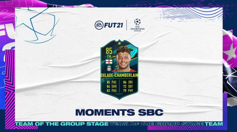FIFA 21: Oxlade Chamberlein UCL moments SBC
