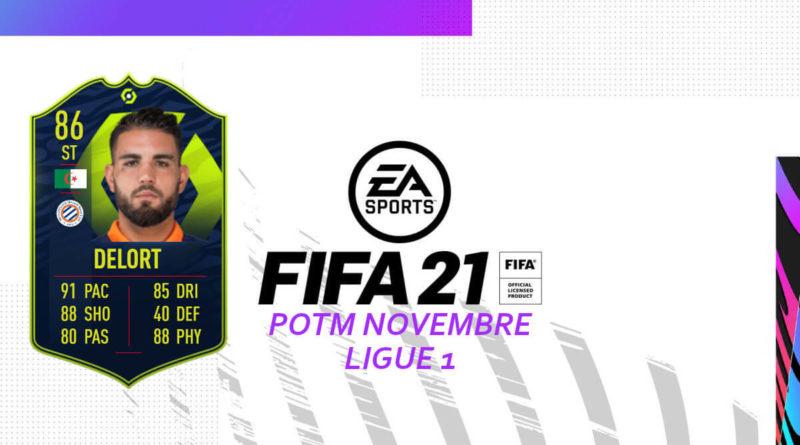 FIFA 21: Delort POTM Ligue 1
