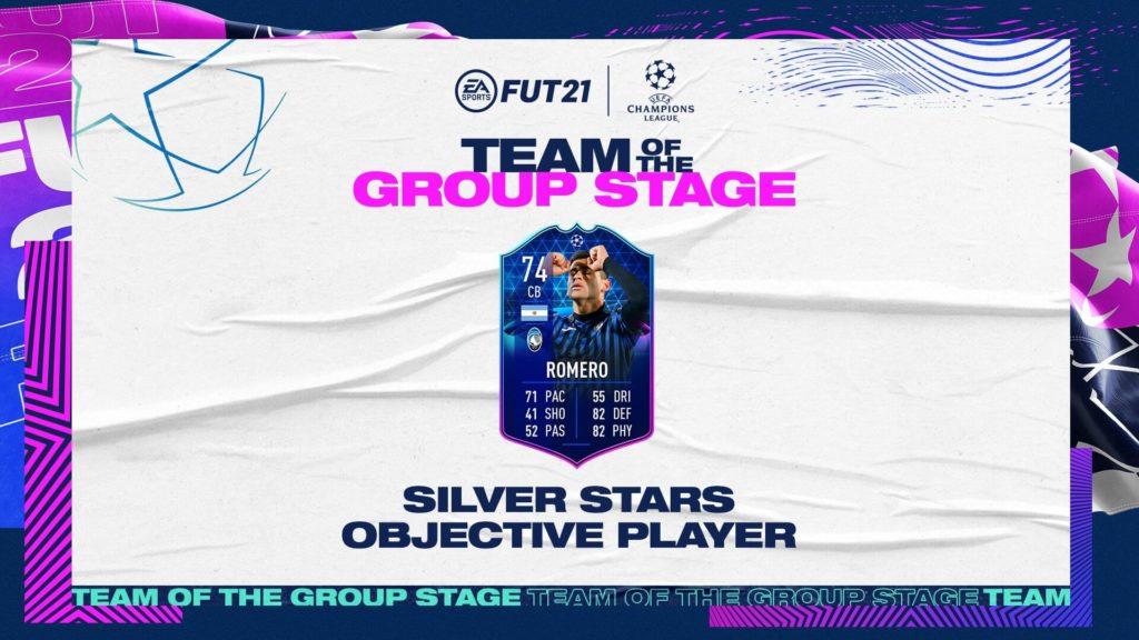 FIFA 21: Romero TOTGS Silver Star